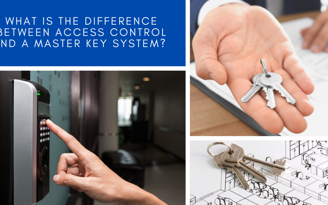 What is the difference between Access Control and a Master Key System?