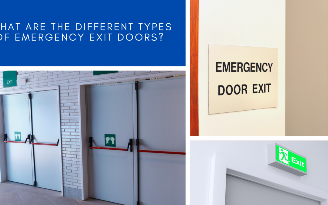 What are the different types of Emergency Exit Doors?